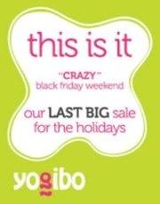 Black Friday Sale on Bean Bags