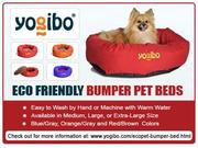 Eco Friendly Bumper Pet Beds